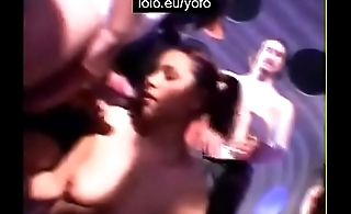 2 wifes in sex club fucked by lots of men part 1