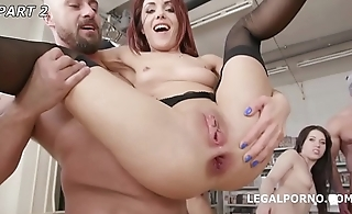 Anal Fisting with Lisey Sweet, Monika Wild, Dominica Phoenix