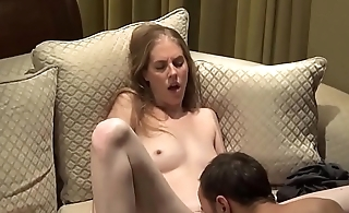 Guy Has His Couch Ruined wide of Pussy Juice wide of Girl He Met Online
