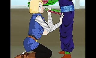 Android 18 troll ball z hentai