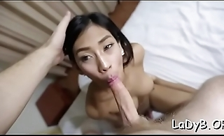 Insane fuck for a lewd tranny