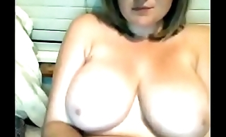 Hot chubby with big round tits lived webcam