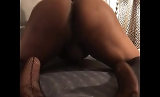 IG: Ts MorganPerfetto Snap: BlackHungTranny twerking my ass Donate link in Bio