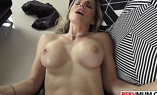 Stepson Slamms His Nubile Stepmom Cory Chase