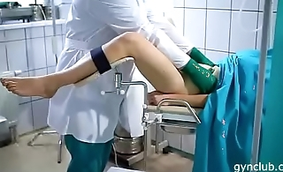 hard gynecological examination for a young patient(37)