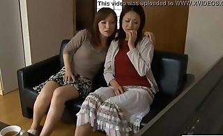 LesbianCums.com: Korean Stepmom Seduced By Of either sex gay Teen