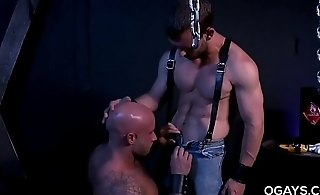 Gay intercourse in the dungeon
