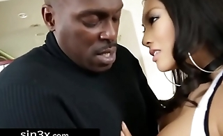 Asa Akira Takes Massive Black Cock Into Her Asshole