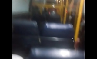 Indian stranger sees and grabs my cock in public bus