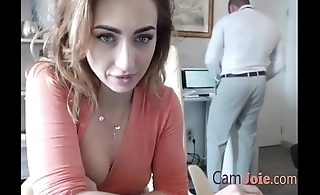 prexy hot girl got horny at work and start masturbating
