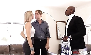 Hot Blonde Wife Zoey Monroe Caught Most important With Black Guy Cuckold