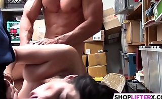 Officer Has A Strong Cock For Gal Audrey