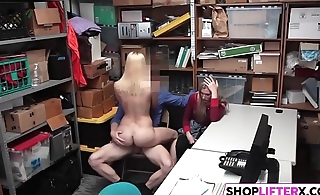 Mom And Pulling Cutie Gets The Dick For Theft