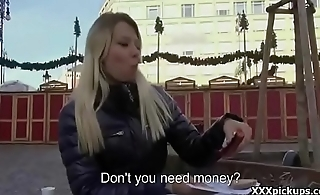Teen Amateur Euo Babe Fucked By Horny Tourist For Euros 01