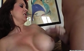Busty Mom Raquel Devine Siamoise Sex With Young Lover