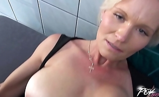 Mature Maid Pays for Fraudulent Exposure With Her Pretty Cunt